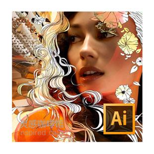 Ai Illustrator CS5 CS6 CC for MAC/PC 平面广告设计软件教程(tbd)
